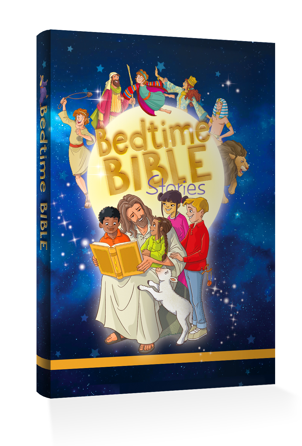 Bedtime Bible Stories Cover